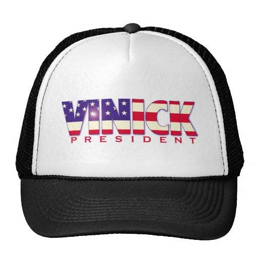 Vinick para el gorra del presidente