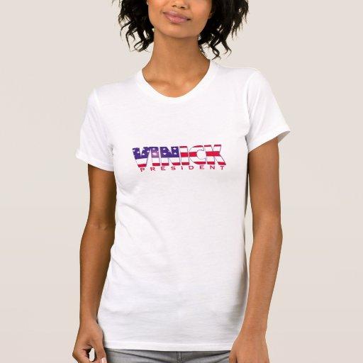 Vinick para la camiseta del presidente