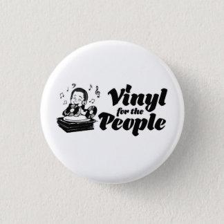 Vinilo para el botón de la gente (pequeño)