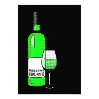 vino casero agradable anuncio personalizado