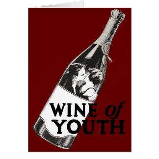Vino de la juventud felicitacion