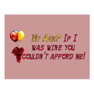 Vino fino postal