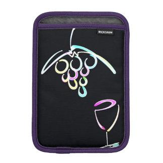 Vino rojo e iPad Funda Para iPad Mini