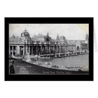 Vintage 1904 de la feria de mundo de St. Louis Tarjeta De Felicitación