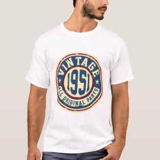 Vintage 1951 todas las piezas de la original camiseta