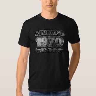 Vintage 1970 - Envejecido a la perfección Camiseta
