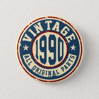 Vintage 1990 todas las piezas de la original chapa redonda de 5 cm