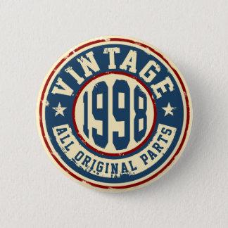 Vintage 1998 todas las piezas de la original chapa redonda de 5 cm