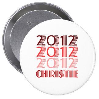 VINTAGE 2012 DE CHRISTIE CHAPA REDONDA DE 10 CM