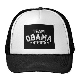 vintage 2012 de obama del equipo gorro de camionero