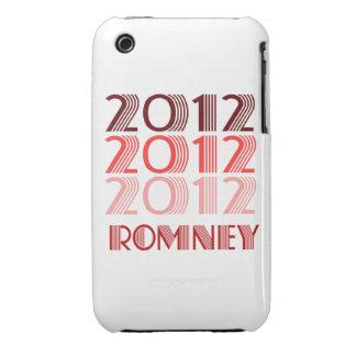 VINTAGE 2012 DE ROMNEY iPhone 3 Case-Mate FUNDA