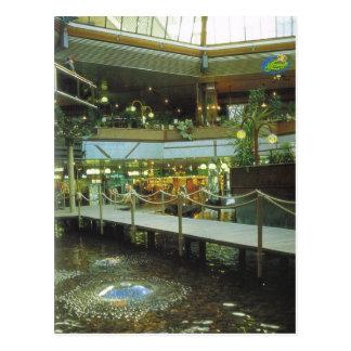 Vintage Alemania Berlín centro comercial del Eur Postales