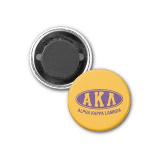 Vintage alfa de la lambda el | de Kappa Imanes