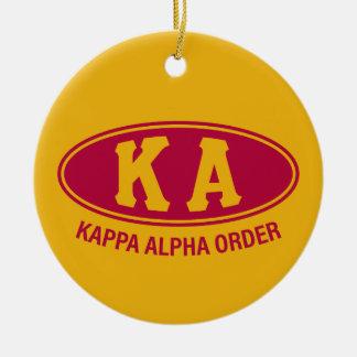 Vintage alfa de la orden el | de Kappa Adorno De Cerámica