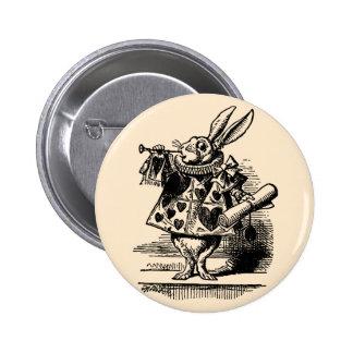 Vintage Alicia en el conejo blanco del país de las