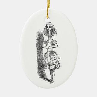 Vintage Alicia en el país de las maravillas Adorno De Navidad
