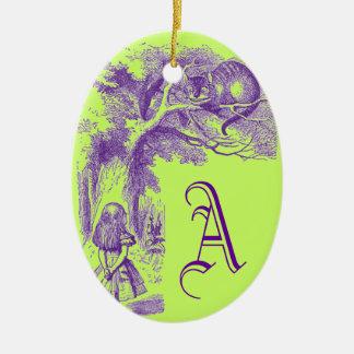 Vintage Alicia en el país de las maravillas Ornamentos De Reyes Magos