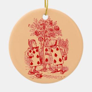 Vintage Alicia en el país de las maravillas Ornamento Para Reyes Magos
