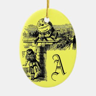 Vintage Alicia en el país de las maravillas Ornamento De Navidad
