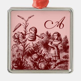 Vintage Alicia en el país de las maravillas Ornamento Para Arbol De Navidad
