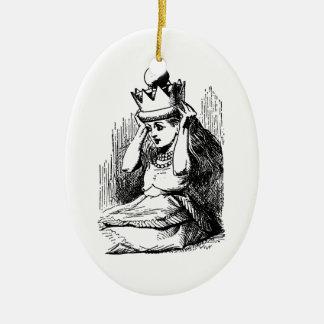 Vintage Alicia en el país de las maravillas; Alici Ornamentos Para Reyes Magos