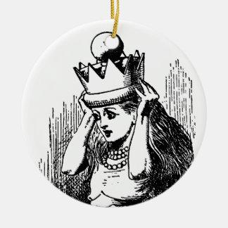 Vintage Alicia en el país de las maravillas; Alici Ornamento Para Arbol De Navidad