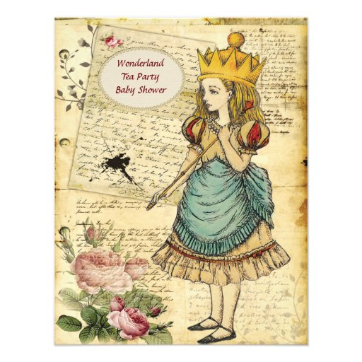 Vintage Alicia en la princesa fiesta de bienvenida Comunicado