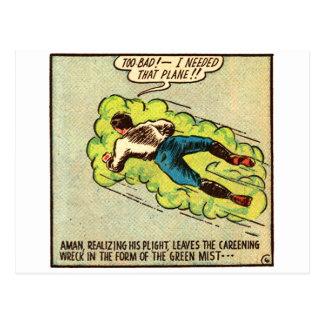 Vintage Aman cómico del kitsch Postal