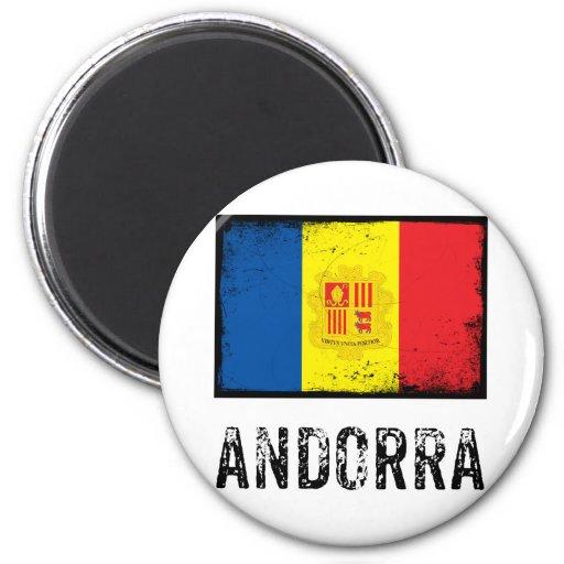 Vintage Andorra Imanes Para Frigoríficos