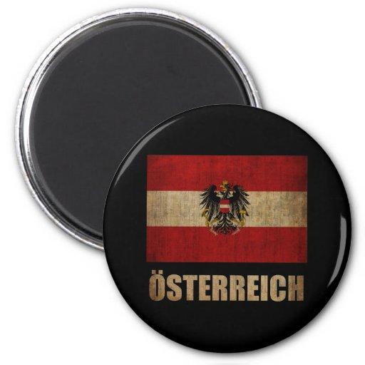 Vintage Austria Imán De Nevera