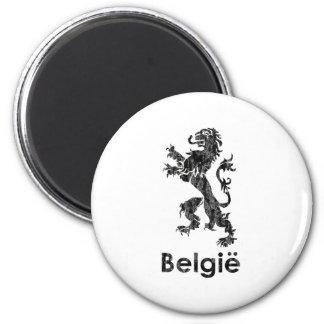 Vintage Bélgica Imán