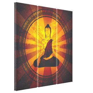 Vintage Buda Lona Envuelta Para Galerias