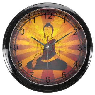 Vintage Buda Relojes Pecera