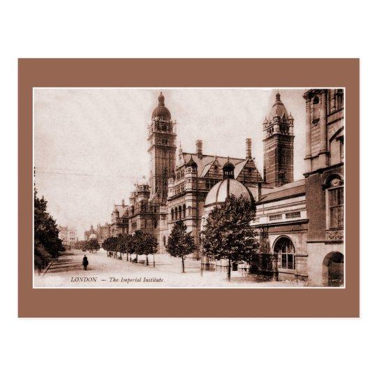 Vintage Ca Londres 1895 el instituto imperial Postal