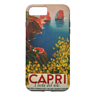 Vintage Capri L'Isola del Sole Italia Funda iPhone 7 Plus