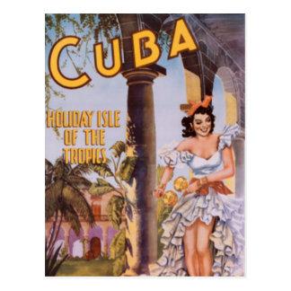 Vintage Cuba - Postal