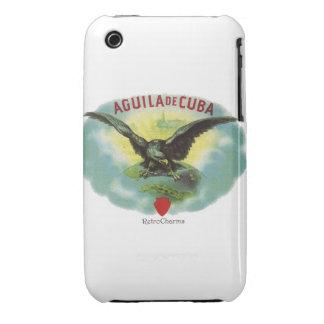 Vintage Cubano Aguila de Cuba Funda Bareyly There Para iPhone 3 De Case-Mate