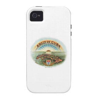 Vintage Cubano Arco de Cuba Case-Mate iPhone 4 Funda