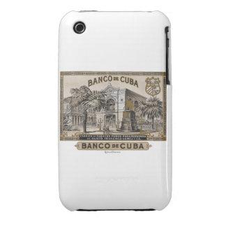 Vintage Cubano Banco de Cuba de Cuba Carcasa Para iPhone 3