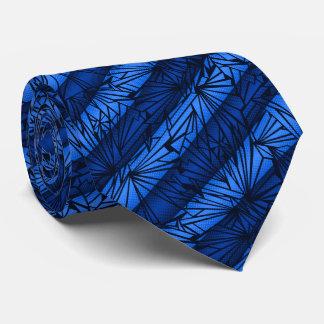 Vintage de cristal quebrado de la raya bilateral corbata personalizada