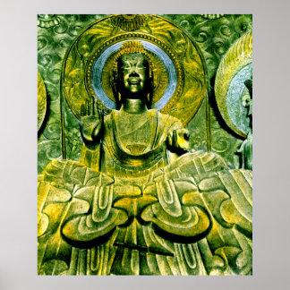 Vintage de Daibutsu Buda del japonés Impresiones