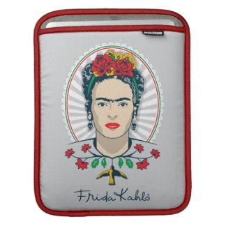 Vintage de Frida Kahlo el | floral Funda Para iPad