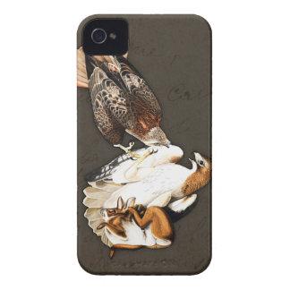 Vintage de la caza de los halcones Case-Mate iPhone 4 cárcasas
