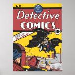 Vintage de la primera aparición de Batman Impresiones