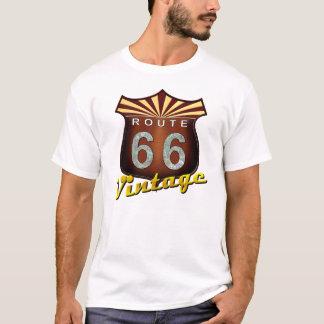 Vintage de la ruta 66 camiseta