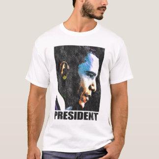 Vintage de presidente Barack Obama Camiseta