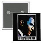 Vintage de presidente Barack Obama Pins