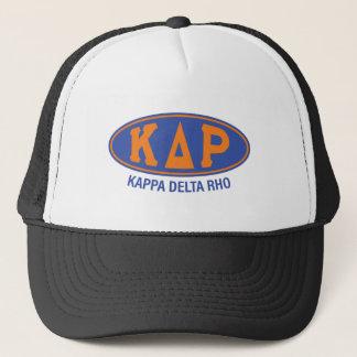 Vintage de rho el | del delta de Kappa Gorra De Camionero