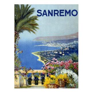 Vintage de Sanremo Italia Tarjetas Postales