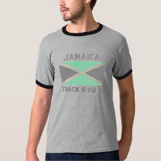 Vintage del atletismo de Jamaica Camiseta